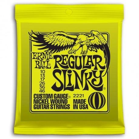 Ernie Ball Regular Slinky Entorchada 10-46