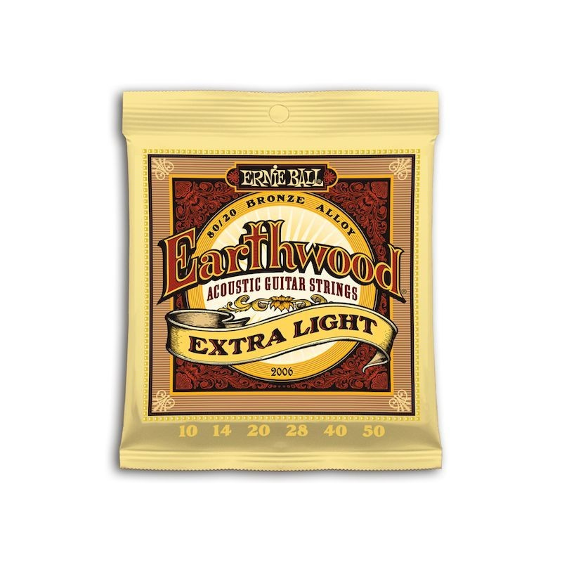 Cuerda Ernie Ball Earthwood 10 50 Extra Light