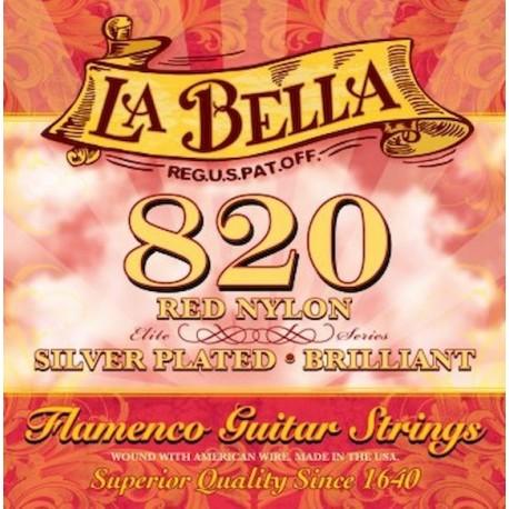 La Bella 820 Juego Cuerdas Clasicas
