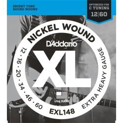 DADDARIO EXL148 Nickel Wound, Extra-Heavy [12-60]