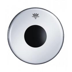 "Remo Controlled Sound Smooth White Black Dot 13"" CS-0213-10"