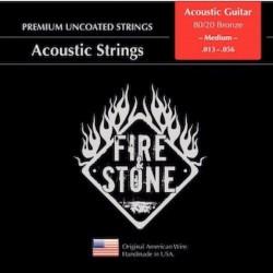 Fire&Stone Acústica bronce médium 13-56