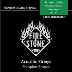 Fire&Stone Acústica Bronce Anti-corrosión Extra-Light 10-47
