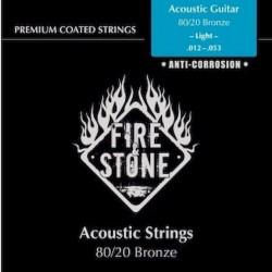 Fire&Stone Acústica Bronce Anti-corrosión Fósforo Light 11-52