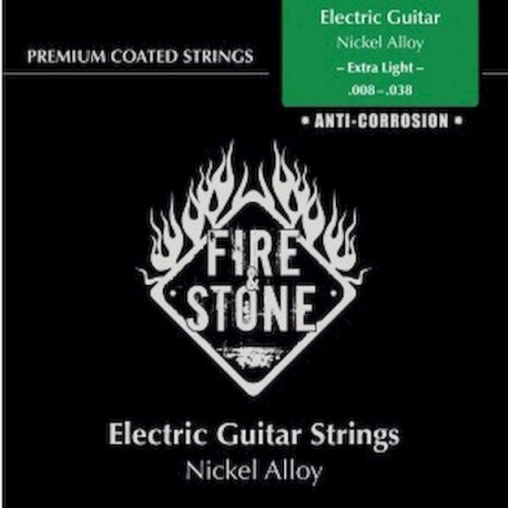 Fire&Stone Eléctrica Nickel 8-38