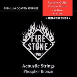 Fire&Stone Acústica Bronce Anti-corrosión Fósforo Medium 13-56