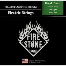 Fire&Stone Eléctrica Nickel Alloy Extra Light 008-038