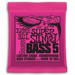 Ernie Ball Slinky Entorchado Redondo 5 St.40-125
