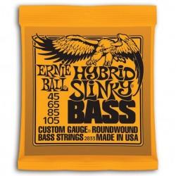 Ernie Ball 2833 Slinky Entorchado Redondo Hybrid 045-105