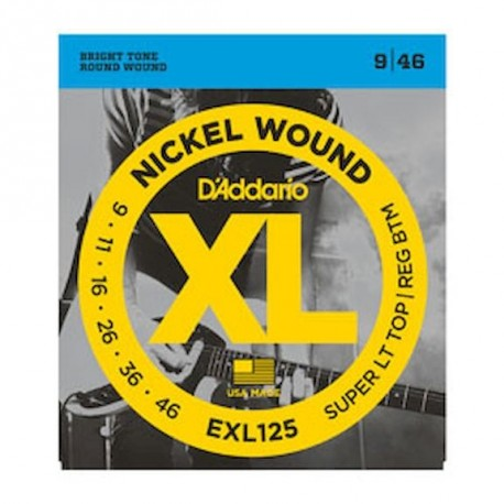 D'addario EXL125