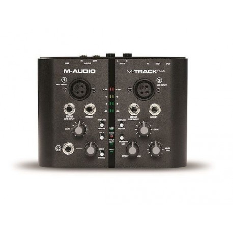 M-AUDIO M-TRACK Interface Audio Midi USB 2 Canales. Portatil