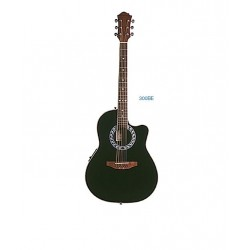 "Guitarra Oval ""DAYTONA"" 300BE Negra"
