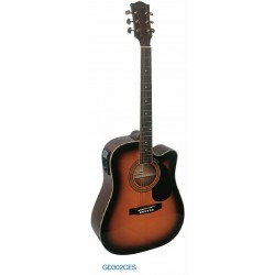 "Guitarra Acustica ""DAYTONA"" GD302CEN Natural"
