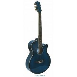 """Guitarra Acustica """"DAYTONA"""" GRO300C-Azul"""