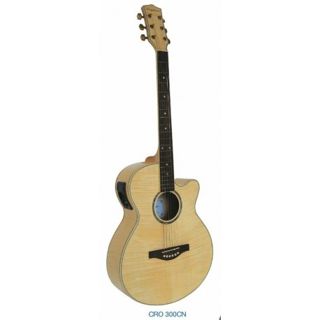 "Guitarra Acustica ""DAYTONA"" GRO300C-Natural"