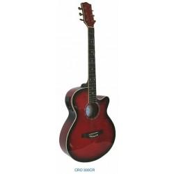 """Guitarra Acustica """"DAYTONA"""" GRO300C-Roja"""