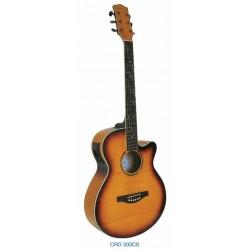 """Guitarra Acustica """"DAYTONA"""" GRO300C-Sombreada"""