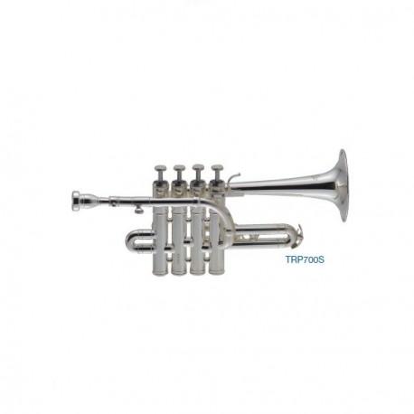 """Trompeta Piccolo """"J.MICHAEL"""" Plateada"""