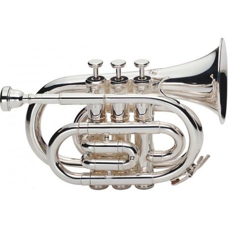 "Trompeta de Bolsillo ""J.MICHAEL"" Plata"
