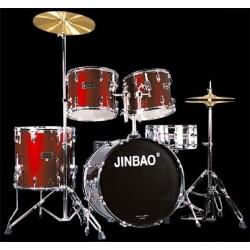 "Batería ""JINBAO"" 103-8 Roja"