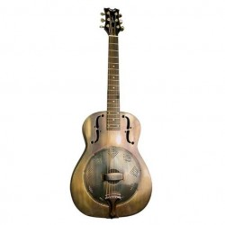 DOBRO DEAN HEIRLOOM BRASS GUITARRA
