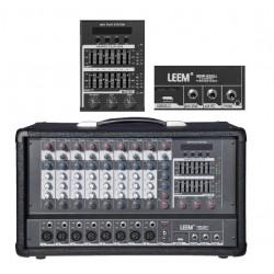 """Mezclador """"LEEM"""" 8C USB-SMP820"""
