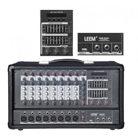 Leem Mezclador 8C USB-SMP820