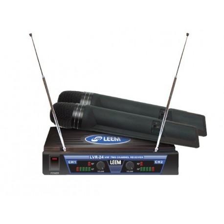 Leem Sistema Microfono Inalambrico SERIE LVTR-24