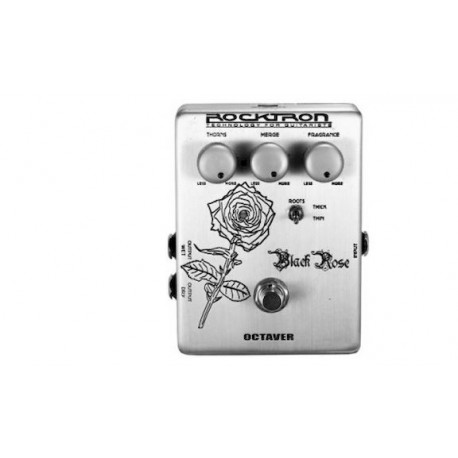 PEDAL ROCKTRON BLACK ROSE OCTAVER Boutique