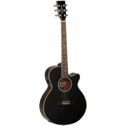 "Guitarra Acustica ""TANGLEWOOD"" TSFCE Negra"