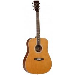 "Guitarra Acustica ""TANGLEWOOD"" TW28CSGZ Serie EVOLUTION Para ZURDO"