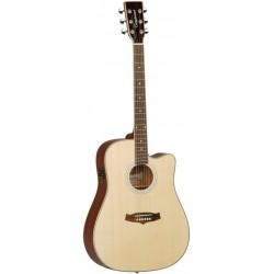 Tanglewood Guitarra Acústica TW28SLNCE Serie EVOLUTION ELECTRIFICADA