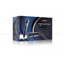 Prodipe TT1-UHF Micrófono de Mano Inalambrico y Receptor 16 Canales