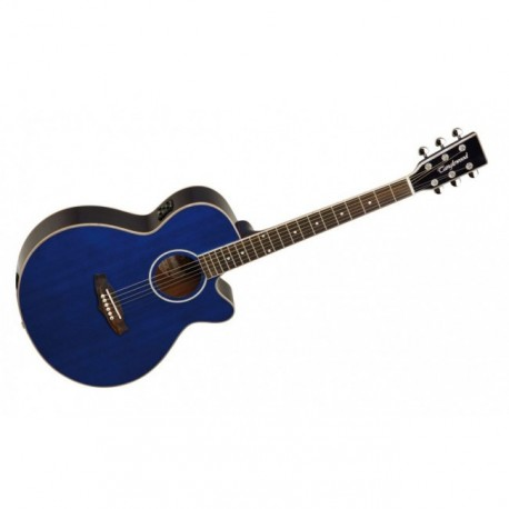 """Guitarra Acustica """"TANGLEWOOD"""" TSFCEBL"""