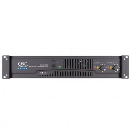 QSC RMX-850 Amplifier 2x 300Watt, 4Ohm