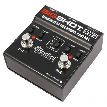 Radial Engineering BigShot SW2 Slingshot Dual Footswitch