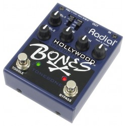 Radial Engineering Bones R800-7100 Hollywood Distortion Guitar Effects Pedal