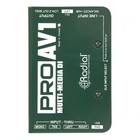 Radial Engineering ProAV1