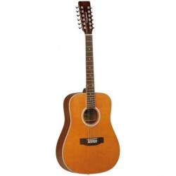 "Guitarra Acustica ""TANGLEWOOD"" TW2812CLN Serie EVOLUTION 12 CUERDAS"