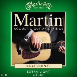 Martin M170 80/20 set 010/047 acoustic