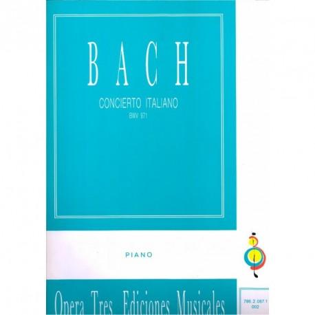 Concierto Italiano - BWV 971 - Piano