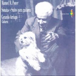 Manuel M.Ponce (Sonatas Y Suites para Guitarra)