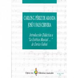 """Introduccion Didactica a """"La Estetica Musical … de Enrico Fubini"""""""