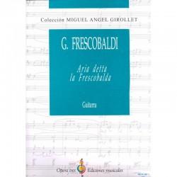 Aria Detta La Frescobalda - Guitarra