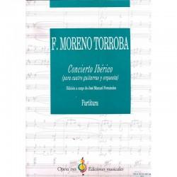 Concierto Iberico - Para Cuatro Guitarras Y Orquesta - Edicion Jose Manuel Fdez. Partitura