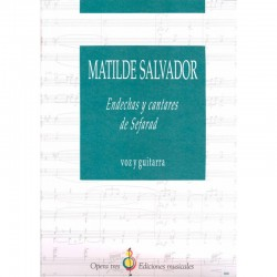 Endechas Y Cantares De Sefarad - Voz Y Guitarra