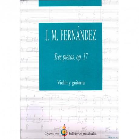 Tres Piezas - OP. 17 - Violin Y Guitarra