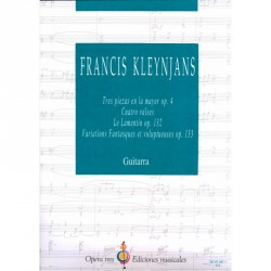 Tres Piezas en La Mayor - OP. 4/ Cuatro Valses/ Le Lamentin - OP.132/ Variations Fantasques et Voluptueuses- OP.133