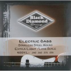 Juego Cuerda Bajo Black Diamond N400XL