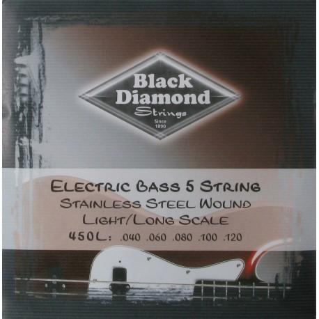 Juego Cuerda Bajo Black Diamond N450L